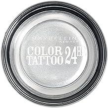 Maybelline Tattoo 24H Sombra de Ojos, Tono: nº50 Eternal Silver