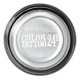 Maybelline New York Color Tattoo Gel-Cream Lidschatten 50 Silver, 4.5 g