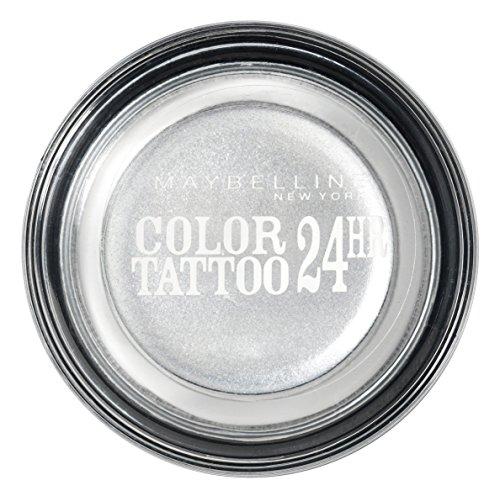 Maybelline New York Color Tattoo Gel-Cream Lidschatten 50 Silver, 4.5 g
