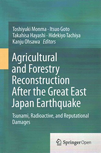 [(Agricultural and Forestry Reconstruction After the Great East Japan Earthquake 2015 : Tsunami, Radioactive, and Reputational Damages)] [Edited by Toshiyuki Monma ] published on (August, 2015) par Toshiyuki Monma