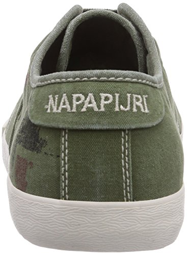 Napapijri asker, Baskets Basses Homme Vert - Grün (scout khaki green N76)