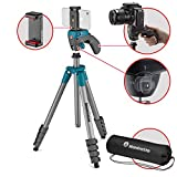 Manfrotto MKSCOMPACTACNBK Compact Action Smart Stativ  blau