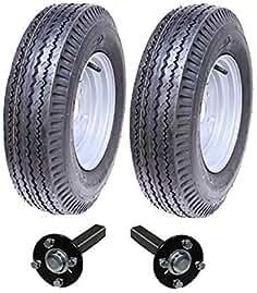 Parnells Alta Velocidad Remolque Kit 5.00-10 Legal para Carretera Wheels + Cubo & Mangueta