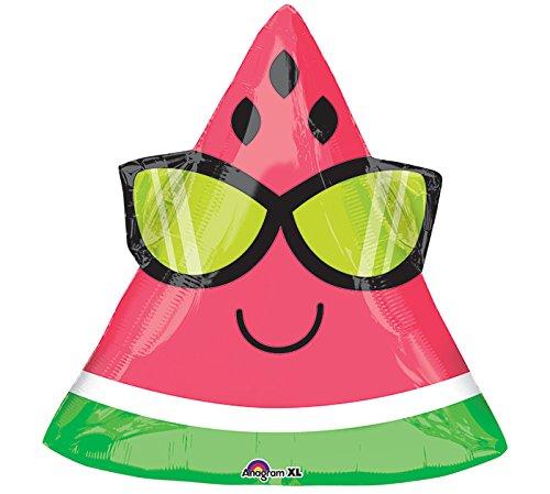 Amscan International 3502901Fun in the Sun Wassermelone Folienballon