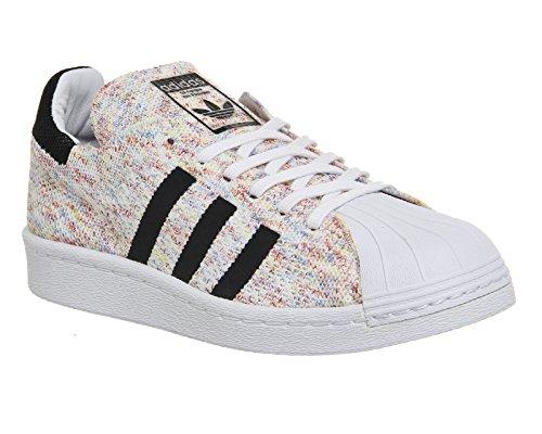adidas Originals Baskets Superstar 80s Primeknit pour Homme ftwr white/core black