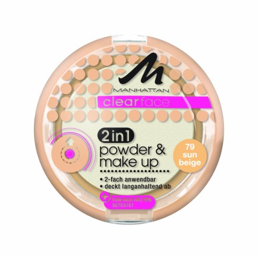 Manhattan Clear Face 2-in-1 Poudre et maquillage Teinte 79 11 g