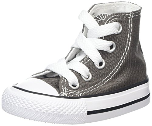 Grigio 19 EU Converse Chuck Taylor All Star Toddler High Top Scarpe per bkk