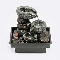 Pajoma 18430,0 Fuentes de Interior, Floating Stones poliresina, 25 cm
