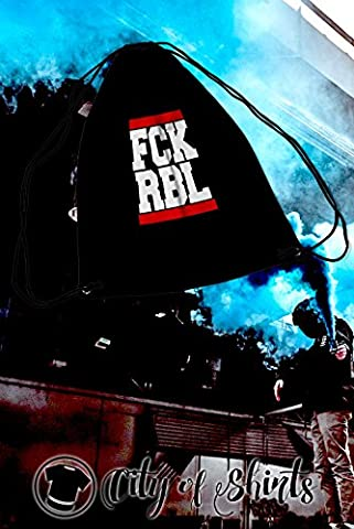 ANTI RB FCK RBL Turnbeutel, Ultras, Hooligans, Tasche