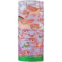 P.A.C. Kids Original Flying Unicorn Multifunktionstuch - nahtloses Mikrofaser Schlauchtuch, Halstuch, Schal, Kopftuch, Unisex, 10 Anwendungsmöglichkeiten