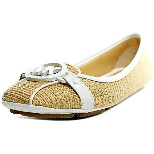 Womens Moc (MICHAEL Michael Kors Fulton Moc Women US 5.5 Tan Flats)