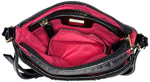 Guess Ladies Florencia Borse Da Viaggio Crossbody, Taglia Unica Rosa (rosa Camu)