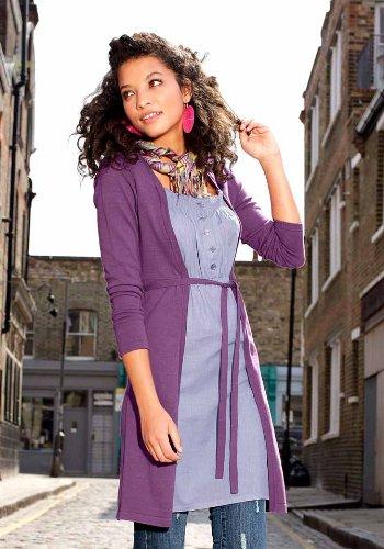 AJC Damen-Kleid Two-in-One Strickkleid Mehrfarbig Größe 32