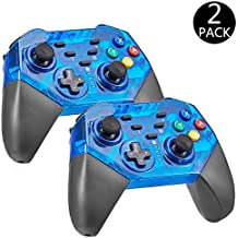 suily 2 Park Switch Controller, Wireless Pro Gamepad Joystick con Dual Shock para la Consola