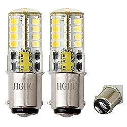 led Birne 5W AC/DC 12V, 35W entspricht, 500LM, kaltweiß 6000K, für Innenbeleuchtung (2-Pack)