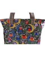 Gossip Girl - Oilcloth / Nylon Day Market Beach Holiday Bag Tote Handbag