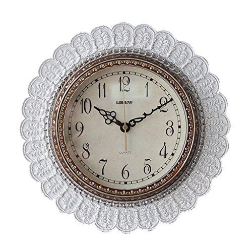 Sunjun Europäische Moderne Minimalistische Schöne Künste Mute Wanduhr Kleine Uhr ( Farbe : #2 ) - Kleine Digital Wanduhr