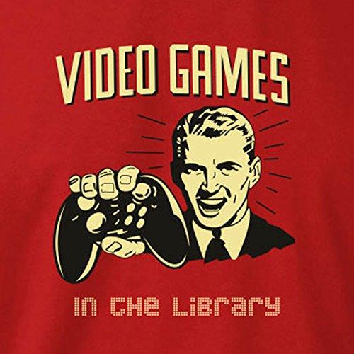 TEXLAB - Library Gaming - Herren T-Shirt Schwarz