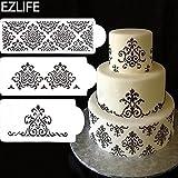 Alcoa Prime 3Pcs Wedding Cake Stencil, P...