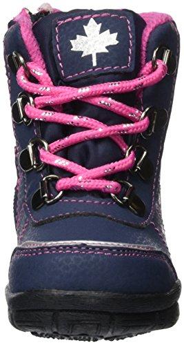 Canadians Stiefel, Chaussures Marche Bébé Fille Bleu - Blau (830 NAVY/FUCHSIA)