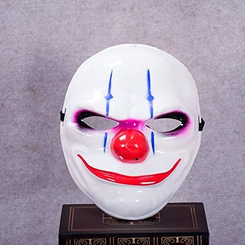 Dodom Minch Clown Masken für Maskerade Party Scary Clowns Maske Zahltag 2 Halloween Horrible Mask, SHR