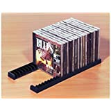 5 Paar GedoTec Système d'archivage Porte-CD pour 23 CDs Range-CD En plastique, coloris noir Qualité de la marque pour votre Surface habitable - 10 Paar