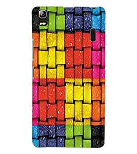 ColourCraft Beautiful Pattern Design Back Case Cover for LENOVO K3 NOTE