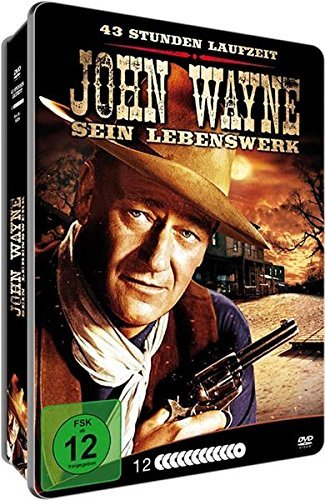 JOHN WAYNE - Sein Lebenswerk - 35 WESTERN KLASSIKER / 43 Stunden Laufzeit DVD Box