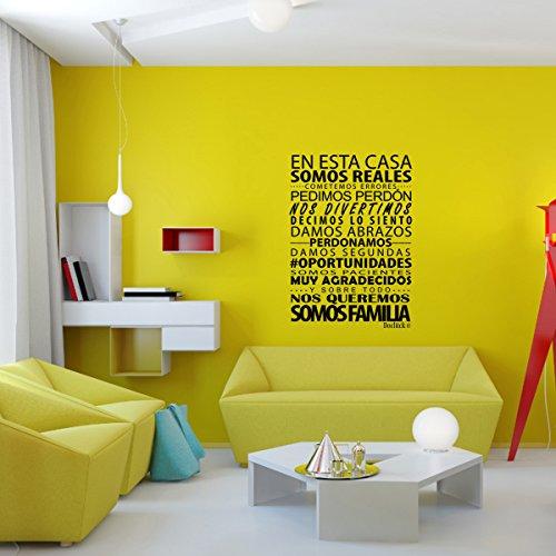 Vinilo frase vinilos decorativos de frases motivadoras for Amazon decoracion pared
