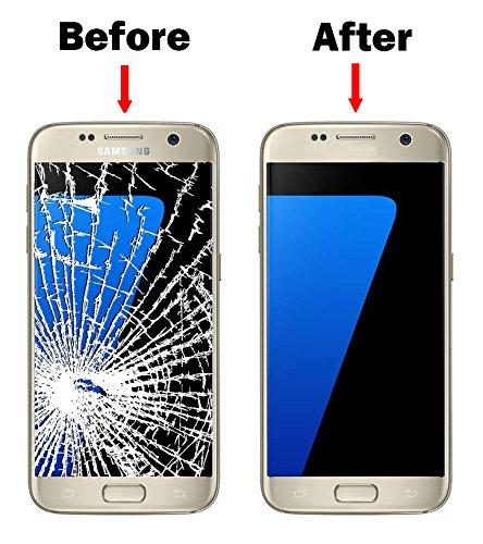 Tapa Trasera para Samsung Galaxy S7 G930F G930 Color Dorado iDigital