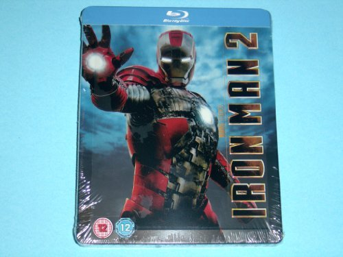 Iron Man 2 UK Limited to 4,000 Copies Playcom Blu-Ray Steelbook Edition Region Free