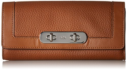 coach-cartera-para-mujer-mujer-marron-silver-saddle