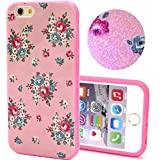 Coque2mobile® Coque TPU Silicone Finition Poudre pour Apple iPhone 6 4.7 Roses