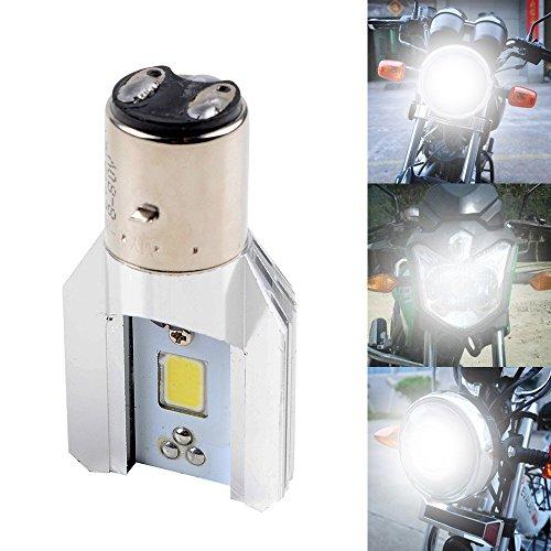 800lm S2 BA20D H6 LED hohe niedrige Lichtstrahl Licht Motorrad ATV 6W 9-80V AC / DC Motorrad LED Scheinwerfer Motor Beleuchtung Birne, Farbe: weiß 6500k