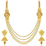 Aabhu 22Kt Gold Plated 4 Line Strand Necklace - Best Reviews Guide