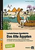 Lernstationen Geschichte: Das Alte Ägypten: Handlungsorienterte Unterrichtsmaterialien für Schüler mit sonderpädagogischem Förderbedarf (5. und 6. Klasse) - Simone Bock von Wülfingen