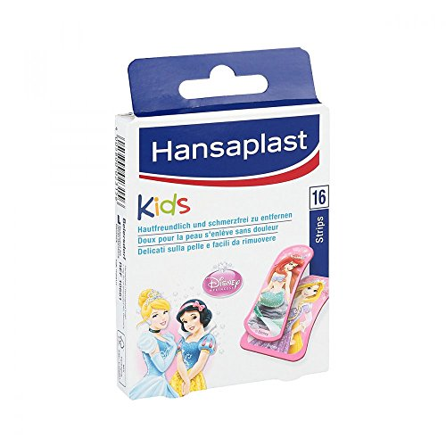 Hansaplast Kids Disney Princess Strips Pflaster, 16 St.