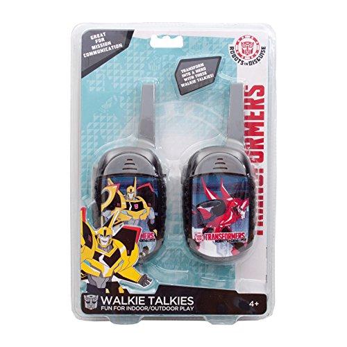 Kinder Walkie Talkie Spielzeug für Kinder Great Fun für Indoor-und Outdoor-Spiel - Boys (Transformers 2)