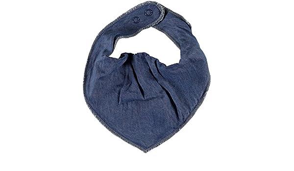 Name it Baby Dreiecktuch Halstuch mit Druckknopf Schal Nitbava Fleece Denim