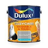Dulux Easycare Washable and Tough Matt Paint, Warm Pewter 2.5 L