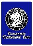 Stratton Oakmont–Metall Wandschild Aufschrift Kunst, inspirierende, Sticky-Pads