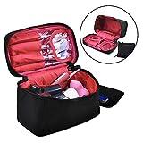 Reise Make-up Portable Taschen, Hohe Qualität Kosmetiktasche mit Verstellbaren Trennwänden für Kosmetik Make-up Pinsel Toiletry Schmuck Digital-zubehör