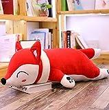 HJLHFD Kawaii Spielzeug kuscheltiere & plüschtiere für mädchen Kinder Baby Toys plüsch Kissen Geschenk Fuchs kuscheltiere weich 50 cm