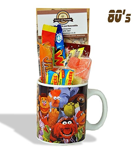 Muppets Characters Mug with a Furry portion of 80's Sweets