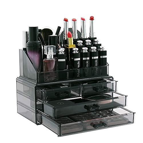 Display4top cosmetico dell' organizzatore di immagazzinaggio 4 cassetti