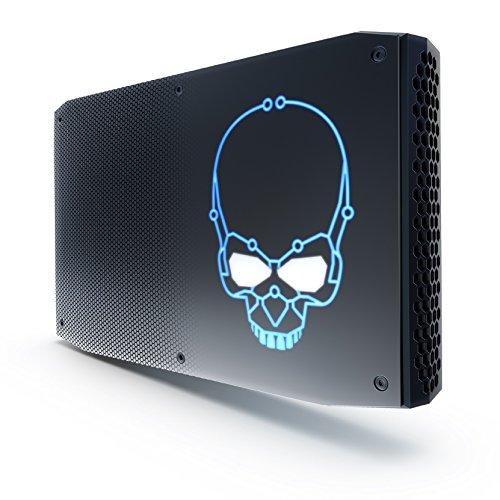 Intel NUC 8 - NUC8I7HNKQC2 Mini-PC (Intel Core i7-8809G Prozessor, SSD 1000GB, Radeon RX Vega M GH Grafik) schwarz Ati Radeon Intel