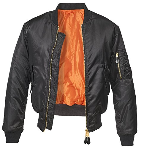 Brandit MA1 Jacke schwarz L