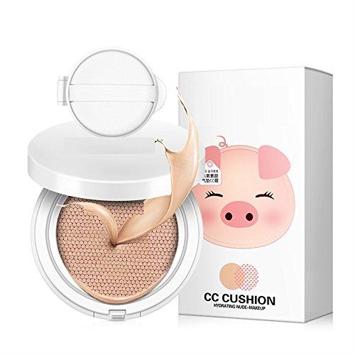 DDOQ Beauté Anti-cernes hydratant impeccable avec des cosmétiques Air Cushion BB Cream pour teint foncé (Couleur : As Shown)