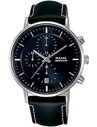 Pulsar Herren-Armbanduhr Analog Quarz Leder PM3081X1