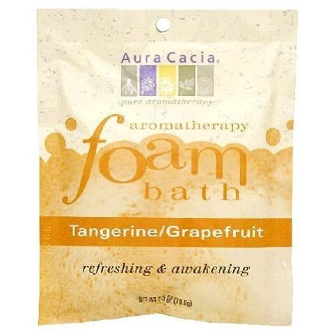 AURA CACIA, Aromatherapy Foam Bath Tangerine/Grapefruit - 2.5 oz by Aura Cacia